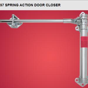 1097 spring action closer
