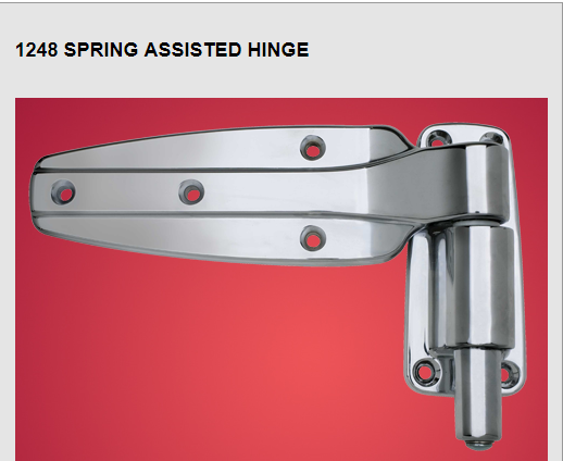 1248 spring assisted hinge